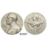 AA623, Sweden, Silver Medal ND (1973) Alfred Nobel (Ø26.6mm, 12.8g) Swedish Medical Society