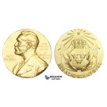 AA624, Sweden, Silver Gilt ND (Ø26.8mm, 13.3g) Alfred Nobel, Committee for Physics