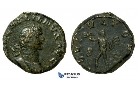 AA626, Roman Empire, Gallienus (253-268 AD) Æ Sestertius (19.82g) Rome, 260 AD, Jupiter, Rare!