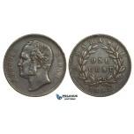 AA635, Sarawak, J. Brooke Rajah, 1 Cent 1863, VF