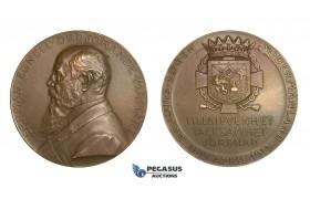 AA746, Sweden, Bronze Masonic Medal 1911 (Ø51mm, 61.7g) by Lindberg, Herrman Egnell
