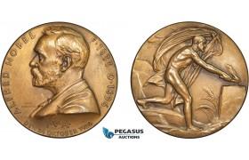AC181, Sweden, Bronze Medal 1926 (Ø45.5mm, 39.2g) Alfred Nobel, Medicine