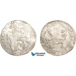AD634, Netherlands, Westfriesland, Lion Daalder 1640, Silver (27.25g) Lightly cleaned XF