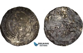 AE366, Hungary, Karl Robert, Groschen ND (1330-32) Silver (1.87g) Huszár: 443, Lead covered