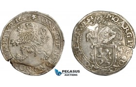AE370, Netherlands, West Friesland, Daalder 1650, Silver (27.06g) XF
