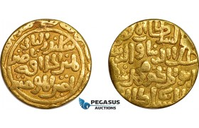 AE738, India, Sultanate of Delhi. Ala al-Din Muhammad, Tanka, Hadrat Delhi, Gold (10.30g) VF