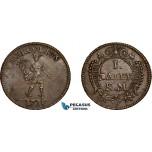 AE769, Sweden, Karl XII, 1 Daler SM, Mercurius, AU