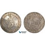 AF017, Germany, Brunswick-Wolfenbuttel, Julius, Taler 1581, Goslar, Silver (29.05g) Dav. 9063, Toned XF