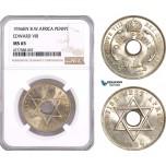 AF077, British West Africa, Edward VIII, 1 Penny 1936-KN, Kings Norton, NGC MS65