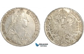 AF491, Austria, Maria Theresia, Taler 1769, Vienna, Silver (27.85g) Cleaned XF-AU