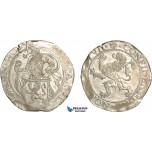 AG130, Netherlands, United Provinces, Lion Daalder 1576, Dordrecht, Silver (27.51g) Cleaned AU