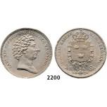Lot: 2200. Sweden, Karl XIV Johan, 1818-1844, ¼ Riksdaler Specie 1831-C/B, Stockholm, Silver