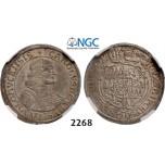 Lot: 2268. Austria, Olmutz, Karl II von LiechtensteinCastelcorn, 1664-1695,, 6 Kreuzer 1674, Silver, NGC MS63