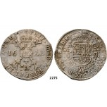 Lot: 2275. Belgium, Brabant, Philip IV. Of Spain, 1621­-1665, Patagon 1622, Antwerp, Silver