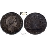 Lot: 2497. Greece, Othon, 1832­-1862, 5 Drachmai 1833, Munich, Silver, PCGS VF35