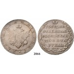 Lot: 2866. Russia, Alexander I, 1801-­1825, Rouble (Rubel) 1802­-СПБ/АИ, St. Peterburg, Silver