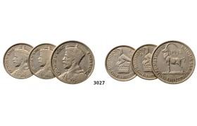 Lot: 3027. Southern Rhodesia (Zimbabwe), George VI, 1936-1952, Silver lot
