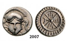 05.05.2013, Auction 2/  2007. Ancient Greek, Mesembria, Diobol, Silver (1.26g)