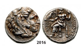 05.05.2013, Auction 2/ 2016. Ancient Greek, Macedonia – Macedonian Kingdom, Tetradrachm (Struck 336-­323 BC) Amphipolis, Silver (17.08g)