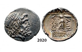 05.05.2013, Auction 2/ 2020. Ancient Greek, Thessaly, Thessalian League Double Victoriatus (Struck 196-­146 BC) Silver (5.83g)