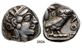 05.05.2013, Auction 2/ 2026. Ancient Greek, Attica, Athens, Tetradrachm (Struck 430 BC) Silver (17.06g)
