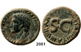 05.05.2013, Auction 2/2081. Roman Empire, Augustus, 27 BC – 14 AD, Æ As, Rome, Bronze (10.51g)
