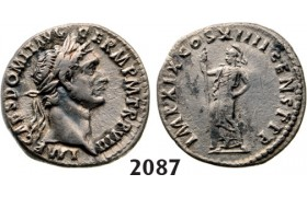 05.05.2013, Auction 2/2087. Roman Empire, Domitian, 81­-96 AD, Denarius (Struck 88­-89 AD) Rome, Silver (3.57g)