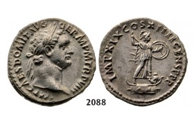 05.05.2013, Auction 2/2088. Roman Empire, Domitian, 81­-96 AD, Denarius (Struck 95 AD) Rome, Silver (3.28g)
