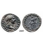 05.05.2013, Auction 2/2089. Roman Empire, Trajan, 103-­111 AD, Denarius (Struck 103-­111 AD) Rome, Silver (3.42g)