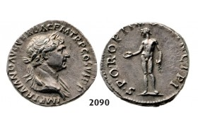 05.05.2013, Auction 2/2090. Roman Empire, Trajan, 103-­111 AD, Denarius (Struck 103­-111 AD) Rome, Silver (3.42g)