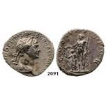 05.05.2013, Auction 2/2091. Roman Empire, Trajan, 103-111 AD, Denarius (Struck 114-117 AD) Rome, Silver (3.27g)
