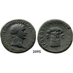 05.05.2013, Auction 2/2095. Roman Empire, Trajan, 103-111 AD, Æ Dupondius, Rome, Bronze (13.34g)
