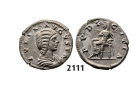 05.05.2013, Auction 2/2111. Roman Empire, Julia Domna, wife of Severus, 193-­217 AD, Denarius, Rome, Silver (3.06g)