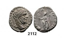 05.05.2013, Auction 2/2112. Roman Empire, Clodius Albinus, 195-197 AD, Denarius (Struck 194-195 AD) Rome, Silver (3.29g)