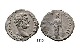 05.05.2013, Auction 2/2113. Roman Empire, Clodius Albinus, 195-197 AD, Denarius (Struck 194-195 AD) Rome, Silver (3.39g)
