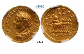 05.05.2013, Auction 2/2122. Roman Empire, Elagabalus, 218-222 AD, AV Aureus (Struck 218-219 AD) Antioch, GOLD (7.10g), NGC AU*