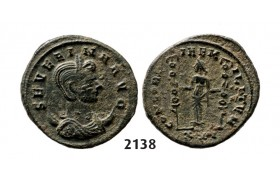 05.05.2013, Auction 2/2138. Roman Empire, Severina, wife of Aurelian, 270-­275 AD Antoninianus (Struck 275 AD) Siscia, Billon (3.79g)