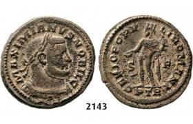 05.05.2013, Auction 2/ 2143. Roman Empire, Galerius Caesar, 305-­311 AD, Æ (Nummus) (Struck 305) Trier, Billon (11.70g)