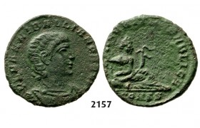05.05.2013, Auction 2/ 2157. Roman Empire, Hannibalianus, 335-­337 AD, Æ1, Constantinople, Bronze or Billon (1.21g)