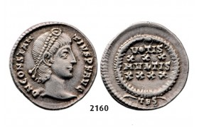 05.05.2013, Auction 2/2160. Roman Empire, Constantine II as Caesar, 337-­361 AD, Siliqua (Struck 355­-361 AD) Thessalonica, Silver (3.27g)