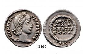 05.05.2013, Auction 2/2160. Roman Empire, Constantine II as Caesar, 337-361 AD, Siliqua (Struck 355-361 AD) Thessalonica, Silver (3.27g)