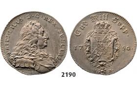 05.05.2013, Auction 2/ 2190. Sweden, Fredrik I, 1720-1751, ¼ Riksdaler 1750, Stockholm, Silver