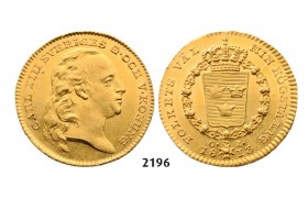 05.05.2013, Auction 2/ 2196. Sweden, Karl XIII, 1809­-1818, Dukat 1813­-O/L, Stockholm, GOLD