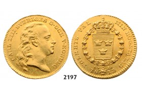 05.05.2013, Auction 2/ 2197. Sweden, Karl XIII, 1809­-1818, Dukat 1813-­O/L, Stockholm, GOLD