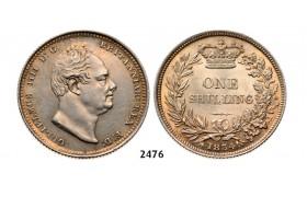 2476. Great Britain, William IV, 1830-1837, Shilling 1834, London, Silver
