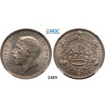 05.05.2013, Auction 2/2489. Great Britain, George V, 1910-1936, Crown 1928, London, Silver, NGC MS62