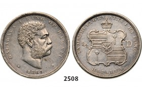 05.05.2013, Auction 2/ 2508. Hawaii, Kalakaua, 1874­-1891, ½ Dollar 1883, Silver