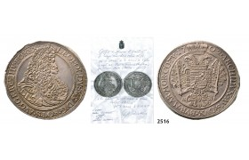 05.05.2013, Auction 2/ 2516. Hungary, Leopold, 1657­-1705, Taler 1702-­NB/ICB, Nagybanya, Silver