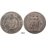 05.05.2013, Auction 2/ 2541. Italy, Liguria, 8 Lire 1798, Genova, Silver
