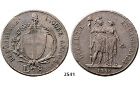 05.05.2013, Auction 2/ 2541. Italy, Liguria, 8 Lire 1798, Genova, Silver